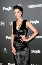 JAIMIE ALEXANDER at EW & People Upfronts Party in New York 05/16/2016