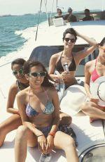 JAIMIE ALEXANDER in Bikinis At a Pool in Cancun 05/10/2016