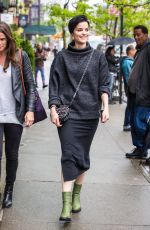 JAIMIE ALEXANDER Out for Lunch in New York 05/03/2016