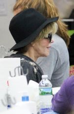 JANE FONDA at a Nail Salon in Beverly Hills 04/30/2016