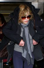 JANE FONDA at Los Angeles International Airport 05/07/2016