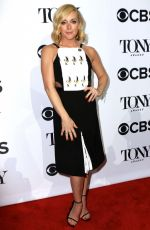 JANE KRAKOWSKI at 2016 Tony Awards Meet the Nominees in New York 05/04/2016