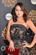 JANEL PARRISH at Alice Through the Looking Glass Premiere in Hollywood 05/23/2016