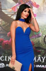 JASMIN WALIA at Alice Through the Looking Glass Premiere in London 05/10/2016