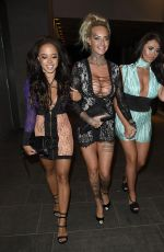JEMMA LUCY, CHARLOTTE DAWSON and OLIVIA WALSH at Geisha Nighclub in Birmingham 04/30/2016