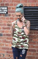 JEMMA LUCY Out and About in Manchester 05/26/2016