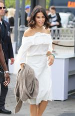 JENNA DEWAN on the Set of