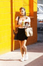 JENNA JOHNSON Arrives at DWTS Rehersal in Hollywood 04/30/2016