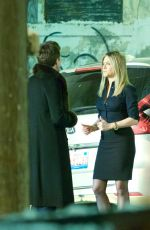 JENNIFER ANISTON on the Set of