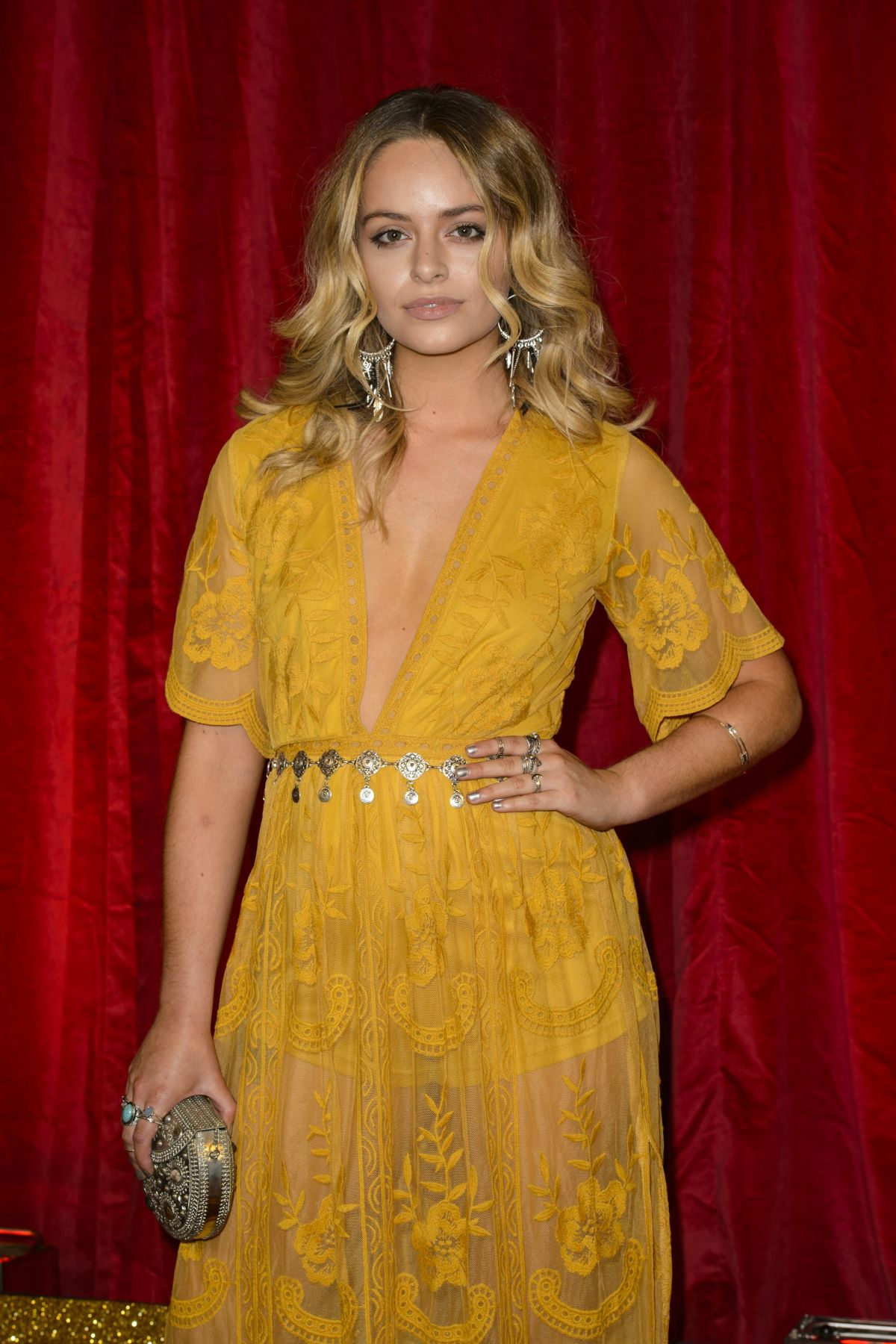 JENNIFER BROOKE at British Soap Awards 2016 in London 05/28/2016
