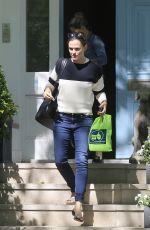 JENNIFER GARNER Leaves Her House in London 05/24/2016