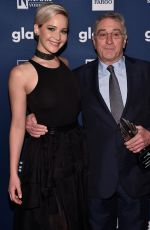 JENNIFER LAWRENCE at 27th Annual Glaad Media Awards in New York 05/14/2016