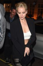JENNIFER LAWRENCE at Sexy Fish in London 05/08/2016