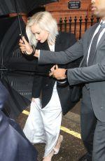JENNIFER LAWRENCE Leaves Her Hotel in London 05/09/2016