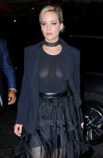 JENNIFER LAWRENCE Night Out in New York 05/14/2016