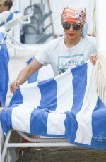 JENNIFER LOPEZ at a Beach in Miami 05/06/2016