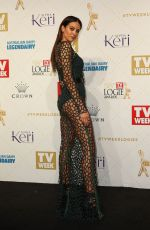 JESINTA CAMPBELL at 58th Annual Logie Awards in Melbourne 05/08/2016