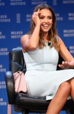 JESSICA ALBA at 2016 Milken Institute Global Conference in Beverly Hills 05/03/2016