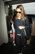 JESSICA ALBA at LAX Airport in Los Angeles 05/10/2016