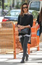 JESSICA ALBA at Washington Square Park 05/11/2016