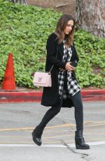 JESSICA ALBA Heading to an Event at Ucla in Los Angeles 05/05/2016