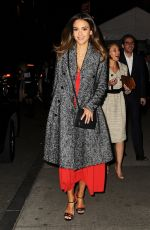 JESSICA ALBA Night Out in New York 05/16/2016