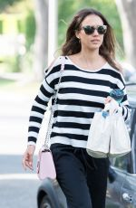JESSICA ALBA Out and About in Los Angeles 05/03/2016