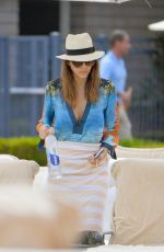 JESSICA ALBA Out and About in Malibu 05/30/2016