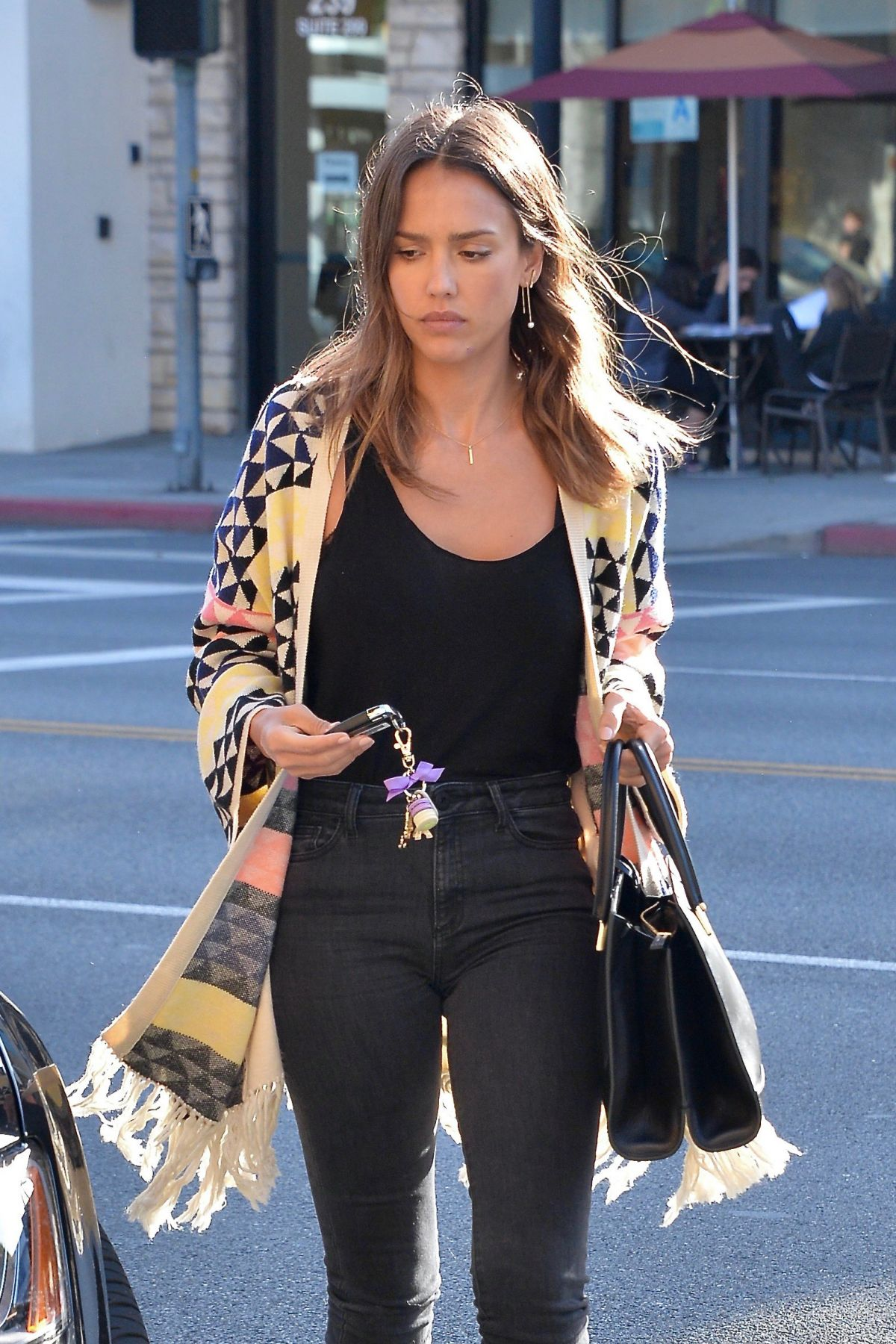 JESSICA ALBA Out for Lunch in Beverly Hills 05/01/2016