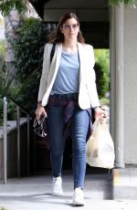 JESSICA BIEL Leaves a Italian Restaurant in Los Angeles 05/04/2016