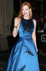 JESSICA CHASTAIN at Costume Institute Gala 2016 in New York 05/02/2016