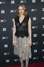 JESSICA CHASTAIN at Jazz at Lincoln Center 2016 Gala in New York 05/09/2016