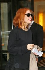 JESSICA CHASTAIN Out and About in New York 05/01/2016
