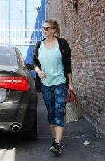 JODIE SWEEETIN Arrives at DWTS Rehersal in Hollywood 04/30/2016
