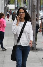 JORDANA BREWSTER Out Shopping in Los Angeles 05/18/2016