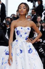 JOURDAN DUNN at 'The Unknown Girl' Premiere at 69th Annual Cannes Film Festival 05/18/2016