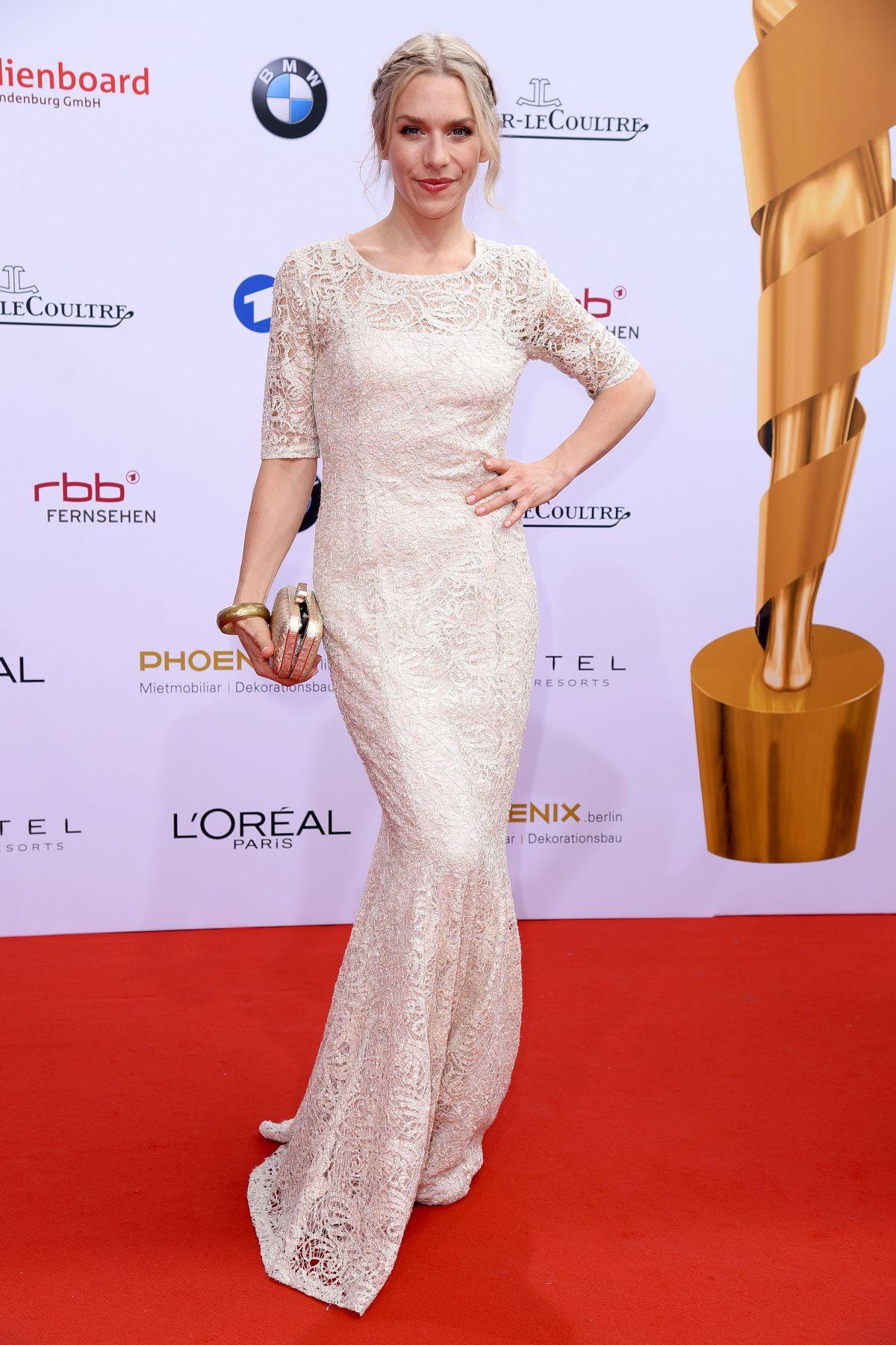 JULIA DIETZE at Lola German Film Awards in Berlin 05/27/2016