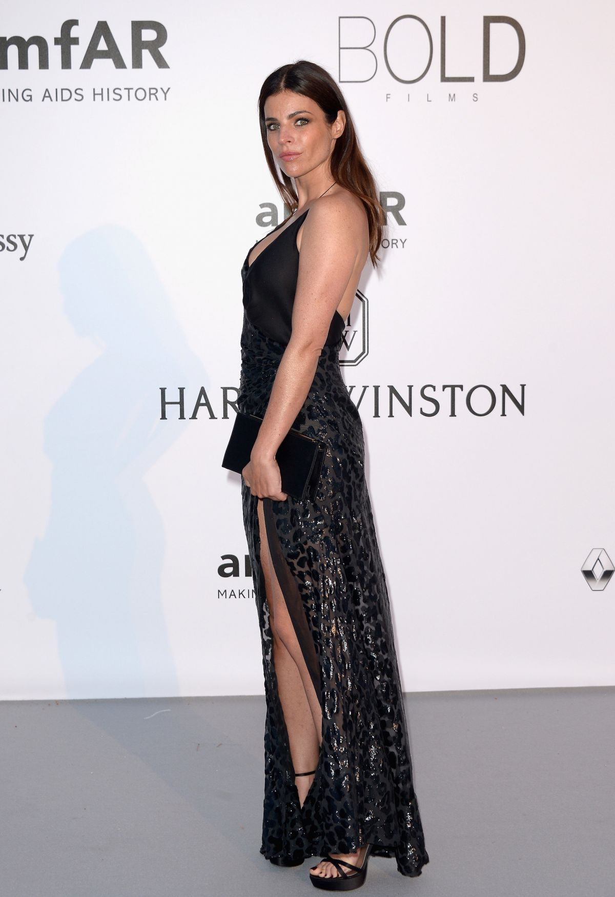 JULIA RESTOIN ROITFELD at Amfar's 23rd Cinema Against Aids Gala in Antibes 05/19/2016