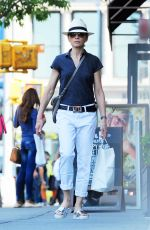 JULIANNA MARGULIES Out and About in Soho 05/26/2016