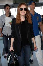 JULIANNE MOORE at Nice Airport 05/14/2016