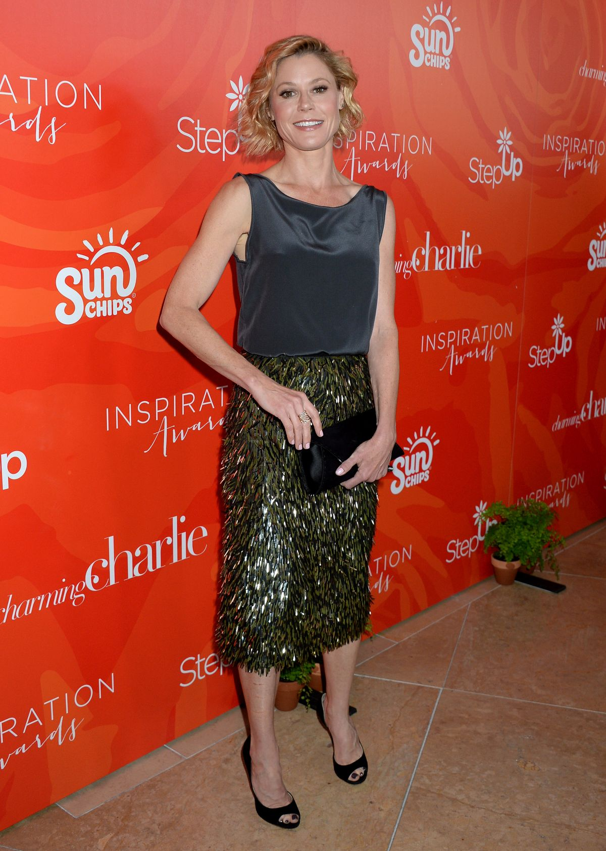JULIE BOWEN at 13th Annual Inspiration Awards to Benefit Step Up in Beverly Hills 05/20/2016
