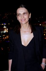 JULIETTE BINOCHE at Women in Motion Gala in Cannes 05/15/2016