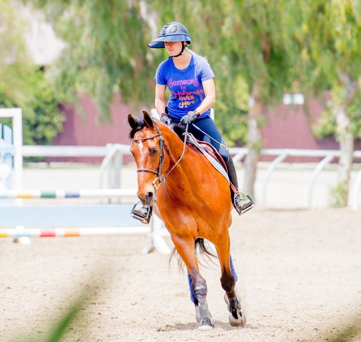 KALEY CUOCO at ... Los Angeles Horseback Riding