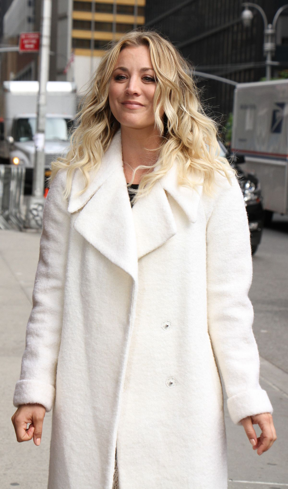 "KALEY CUOCO at ""Late Show with Stephen Colbert"