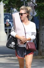 KALEY CUOCO Heading To Yoga Class in Los Angeles 05/23/2016
