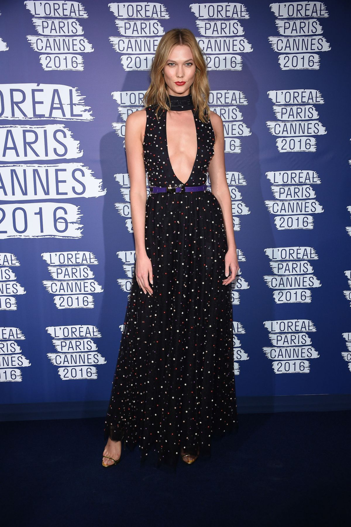 KARLIE KLOSS at L'Oreal Paris Blue Obsession Party at 2016 Cannes Film Festival 05/18/2016
