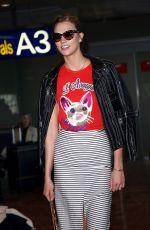 KARLIE KLOSS at Nice Airport 05/16/2016