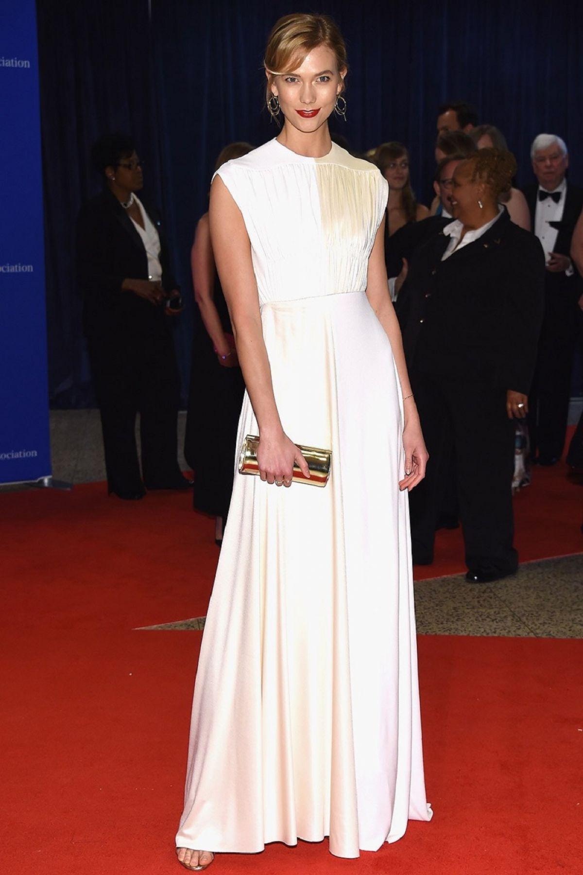 KARLIE KLOSS at White House Correspondents' Dinner in Washington 04/30/2016