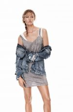 KARLIE KLOSS by David Sims for Mango New Metallics, Spring 2016 Collection