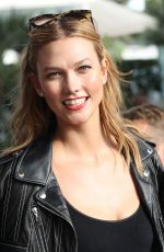 KARLIE KLOSS Leaves Martinez Hotel in Cannes 05/18/2016